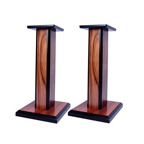 Boxenständer aus - Bücherregal aus Holz Lautsprecherständer Surround Sound Heimkino - 1 Paar, kann zum Stimmen mit Sand gefüllt Werden.
