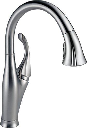 Delta Faucet 9192-AR-DST Addison Single Handle Pull-Down Kitchen Faucet