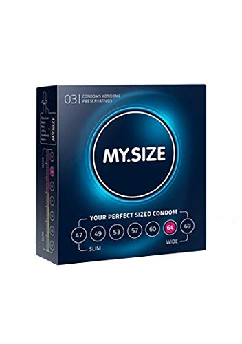 My.Size - Condones, 64 mm, 3