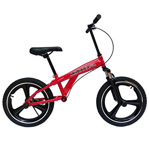ERLAN Bicicletas sin Pedales Bicicleta de Equilibrio para Niñas para 9 10 12 14 15 Años, Niños Grandes Bicicletas para Caminar con Ruedas de Goma de 16 Pulgadas y Freno, Altura 135-160cm