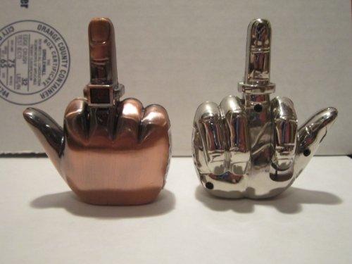 Shooting Flame Middle Finger Lighter #21