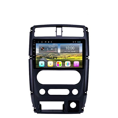 Car Stereo Car DVD CD Player Sat Navi para Suzuki JIMNY 2007-2012 Soporte Navegación GPS Audio Video Bluetooth USB SWC FM Am