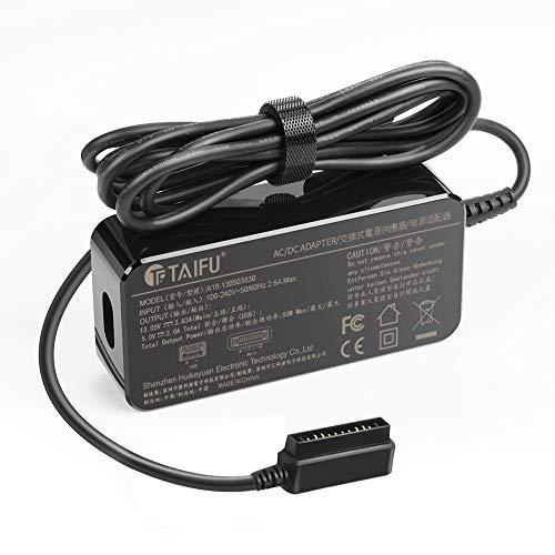 TAIFU 13,05V 3,83A Netzteil Ladegerät für DJI Mavic Pro Platinum Drohne Quadcopter DJI Mavic Controller Drone DJI CP.PT.000567 50W Mavic 2 Zoom Pro Drone Akku 5V 2A USB Anschluss Fernbedienung