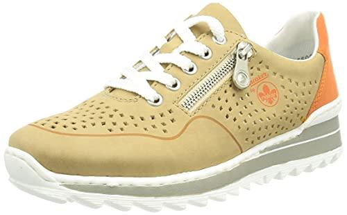 Rieker Damen M6905 Sneaker, Braun, 40 EU