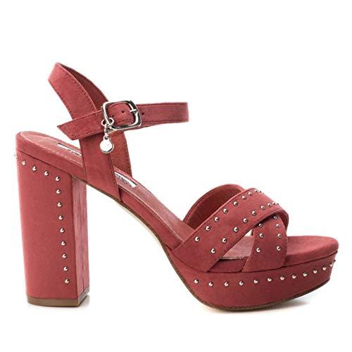 XTI Sandalia TNT032056 para Mujer Rojo 39