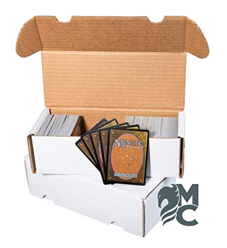 MagicCorner 25 cajas de cartón para juegos de cartas coleccionables, tamaño pequeño
