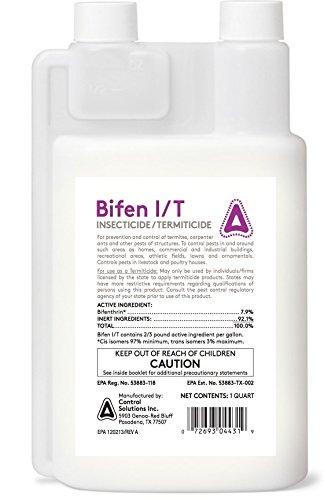 Control Solutions Bifen IT – Quart Insecticide Concentrates by Control Solutions