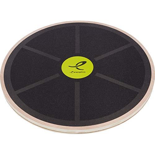 ENERGETICS Unisex– Erwachsene Balanceboards-408896 Balanceboards, Black/Grey/Yellow, One Size