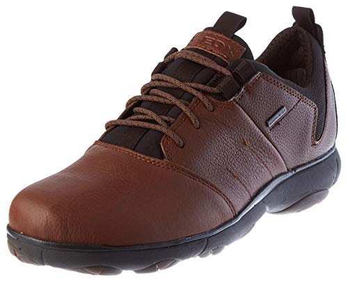 Geox Herren U Nebula 4 X 4 B ABX Sneaker, Brown Cotto, 45 EU