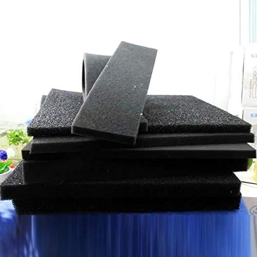50*12*2cm Black Biochemical Cotton Filter Foam Sponge Aquarium Fish Tank Pond GG