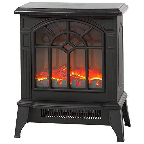 Sea the Stars 暖炉型 ストーブ 2段階切替 電気暖炉 マイクロストーブ 暖炉 Sマーク認証品 (ブラック)