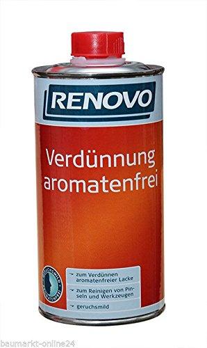Verdünnung Aromatenfrei 1 L Farblos Renovo