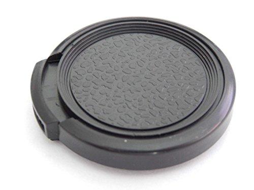 vhbw Objektiv Deckel 34mm Seitengriff passend für Kamera Canon, Casio, Fuji, Fujifilm, JVC, Kodak, Leica, Minolta, Nikon, Olympus