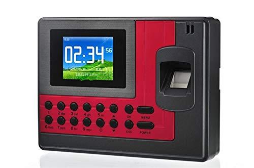 HEQIE-YONGP Timeuhren für Mitarbeiter Kleinunternehmen USB-Fingerabdruck-Anwesenheits-Maschine Mitarbeiter Time Clock