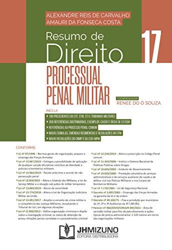 Resumo de Direito Processual Penal Militar (Volume 17)