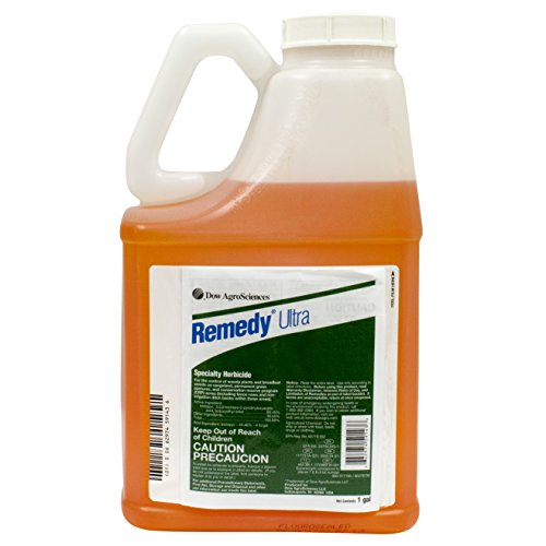Remedy Ultra Specialty Herbicide Weed Killer & Brush Control At Rangeland, Pasture and Fence Lines, Triclopyr Concentrated, Use Alone Or Tank Mix With GrazonNext/ForeFront HL Herbicide, 1 Gallon