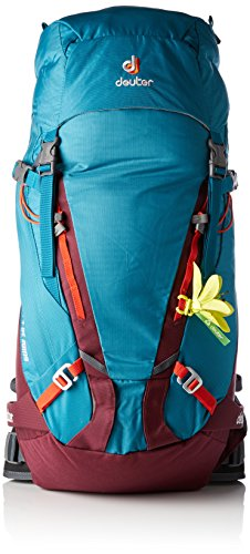 Deuter Guide SL, Zaino Donna, Petrol-Blackberry, 68 x 26 x 18 cm, 30 + 6 Liter