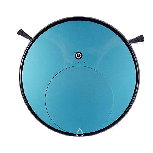 LG Snow La aspiradora de Robots, con la función de Temporizador Remoto, el Robot de batería Baja volverá a la Base de Carga por sí Misma, el Tiempo de Trabajo hasta 120 Minutos (Color : Blue)