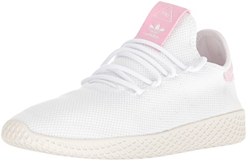 adidas Originals Women's PW Tennis HU W Running Shoe, FTWR, Chalk White_110, 8.5 M US