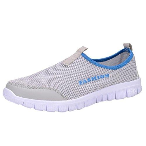 Mocasines Zapatos Sandalias Malla Respirable