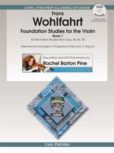 Foundation Studies for the Violin, Book 1 (w/DVD)