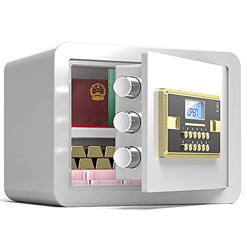 Caja de seguridad de seguridad, Caja de seguridad de contraseña electrónica, caja fuerte de la oficina en casa, sistema de alarma, gran capacidad/C / 35cm×25cm×25cm