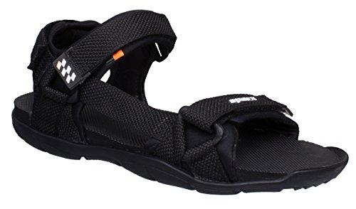 Sparx Men SS-474 Black White Sandals