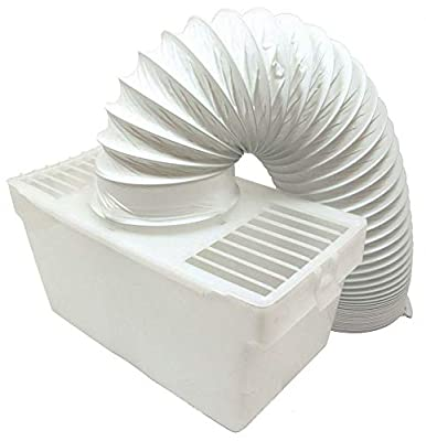 FindASpare Universal White Knight Beko Tumble Dryer Indoor Condenser Vent Kit Box With Hose