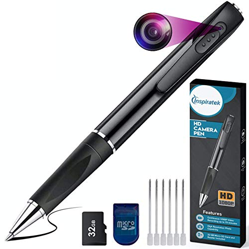 Our #7 Pick is the Inspiratek Mini Spy Camera Pen