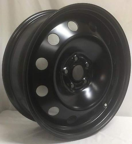 NEW 17' BLACK STEEL WHEEL FITS CRUZE, SONIC TRAX 5X105 MM WHEELS 175105M