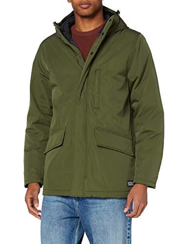Levi's Herren Woodside Utility Parka Jacket, Olive Night, L