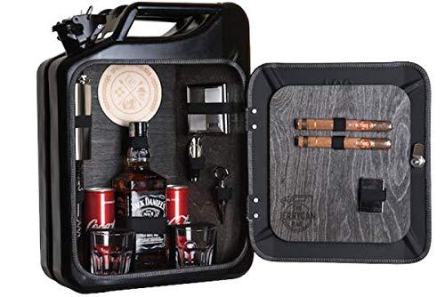 Die Minibar für echte Kerle Männer/JerryCan/Black Edition/Männerhandtasche