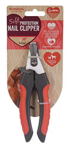 Rosewood 07101 Soft Protection - Tijeras para uñas de Perro, peluquería, tamaño pequeño
