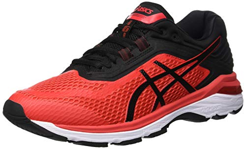 Asics Gt-2000 6, Zapatillas de Entrenamiento para Hombre, Rojo (Red Alert/Black...
