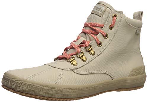 Keds Damen Scout Boot II Matte Twill Wx Stiefelette, Taupe, 37.5 EU