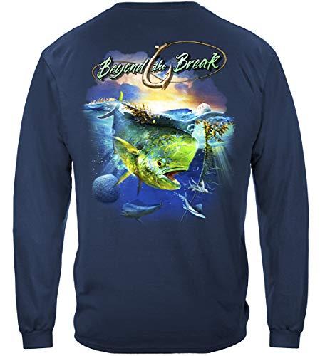 bass Fishing Gear   MAHI Dolphin Fish Long Sleeve T Shirt ADD-BTB2354LSL