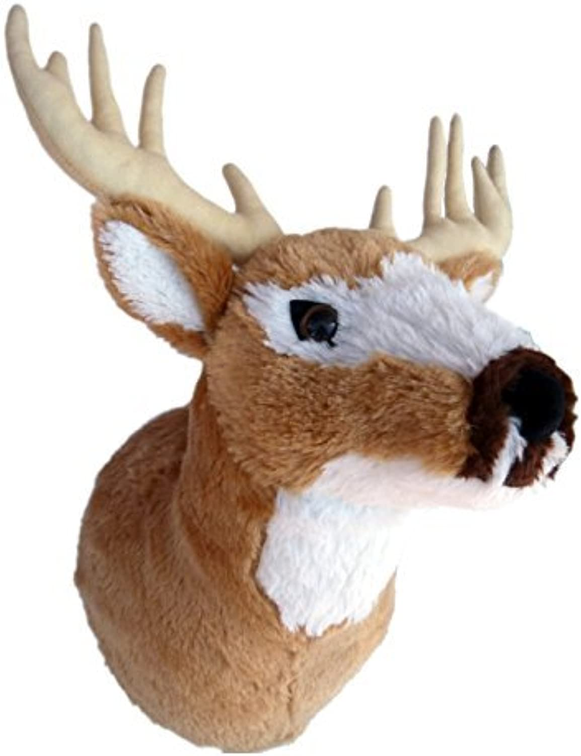 ADORE 13 Mr. Yosemite the Mule Deer Plush Stuffed Animal Walltoy Wall Mount by Adore Plush Company