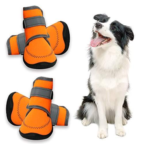 Zeraty Zapatos para Perros Botas para Mascotas Zapatillas pa