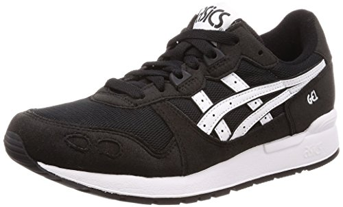 Asics Gel-Lyte, Zapatillas Unisex Adulto, Negro (Black/White 001), 42.5 EU