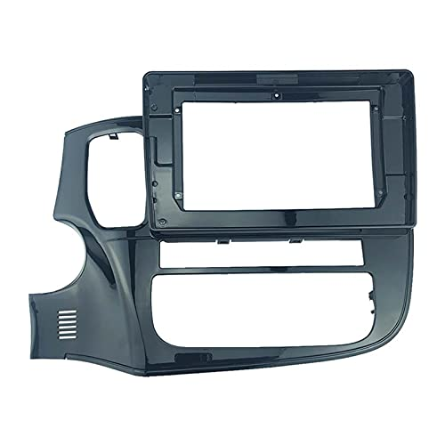 CMEI 2 DIN 10.1 Pulgadas Coche Radio Fascias Ajuste para Mitsubishi Outlander 2017+ Dashboard Frame Installation DVD GPS GPS Player Multimedia (Color Name : Frame)