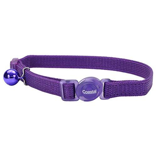 Coastal Pet Products Nailon Seguro Sistema de Gato Ajustable Collar con una...