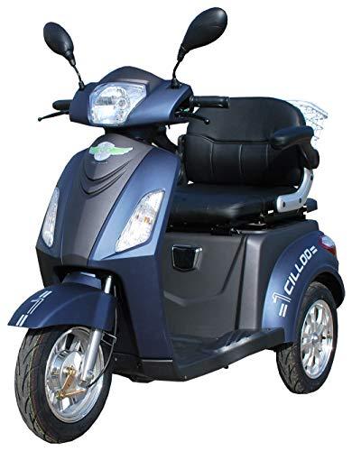 ECO Engel 500 Blau Schwarz Elektromobil/Seniorenmobil 20 km/h