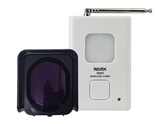 ビームセンサーチャイムセット X890 【リーベックス】 【ワイヤレス呼出機】