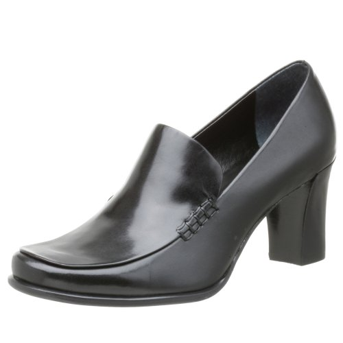 Franco Sarto Women's Nolan Tailored Slip-on Pump,Black ,11 M