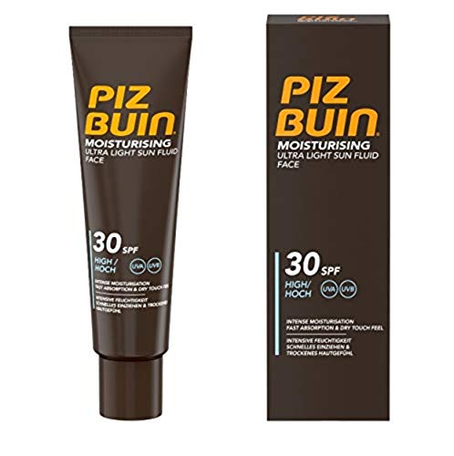 Piz Buin Piz Buin In Moisturising Ultra Light Sun Fluid Face Spf30 50 Ml - 50 ml