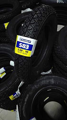 Pneu Michelin 3.50-10 59 J S83 PE pour Piaggio Vespa PX LML