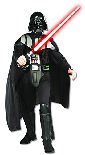 Rubie's Costume Star Wars Darth Vader Deluxe Adult, Black, Standard Costume, M