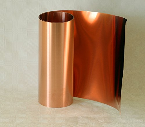 Kupferband, 0,1 x 100 mm, 5 m Rolle