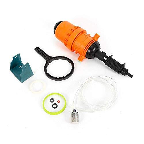 Relaxbx Inyector de Fertilizante Dispensador Proporción 04% -4% Dispositivo de Dosificación Automática 20-2500 L/h Dosificador Químico Fertilizante Inyector Dispensador Dosificador