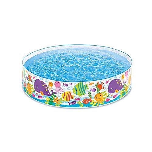 Piscina inflable de tierra al aire libre piscina inflable inflable Ocio Piscina de Verano Fiesta del Agua plegable piscina de hidromasaje grande engrosamiento piscina niños y adultos de la familia del